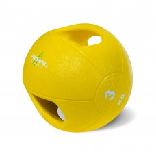Primal Strength Double Handle 3kg Medicine Ball