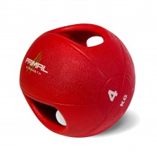 Primal Strength Double Handle 4kg Medicine Ball