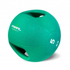 Primal Strength Double Handle 5kg Medicine Ball