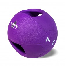 Primal Strength Double Handle 7kg  Medicine Ball