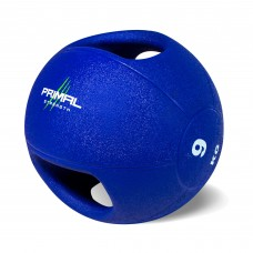 Primal Strength Double Handle 9kg Medicine Ball