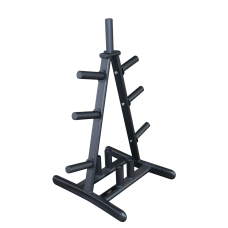 Primal Strength Stealth Commercial Fitness Olympic Disc & Barbell Rack Matte Nero