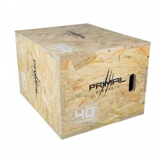 Primal Strength Rebel Commercial Fitness Wooden Plyo Box