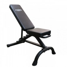 Primal Home Flat to Incline Weights Bench (Matte Black)