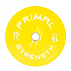 Primal Strength Rebel Commercial Fitness Elite Colour Bumpers 15kg